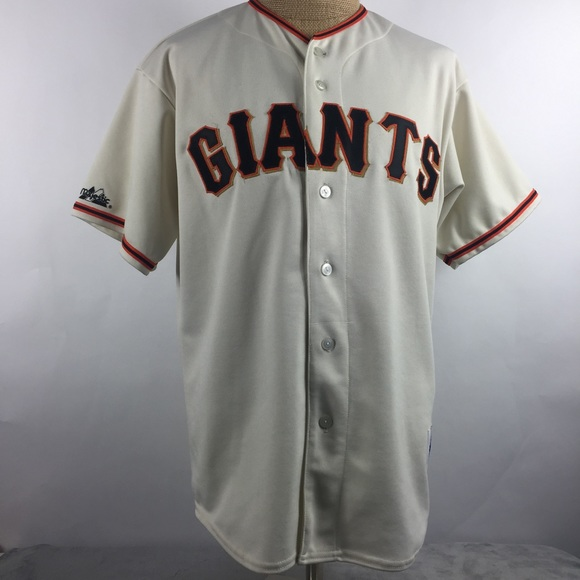 best service 75be9 df910 San Francisco Giants Baseball Men's Jersey Large